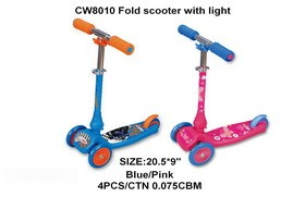 steel & plasticPU wheel scooter