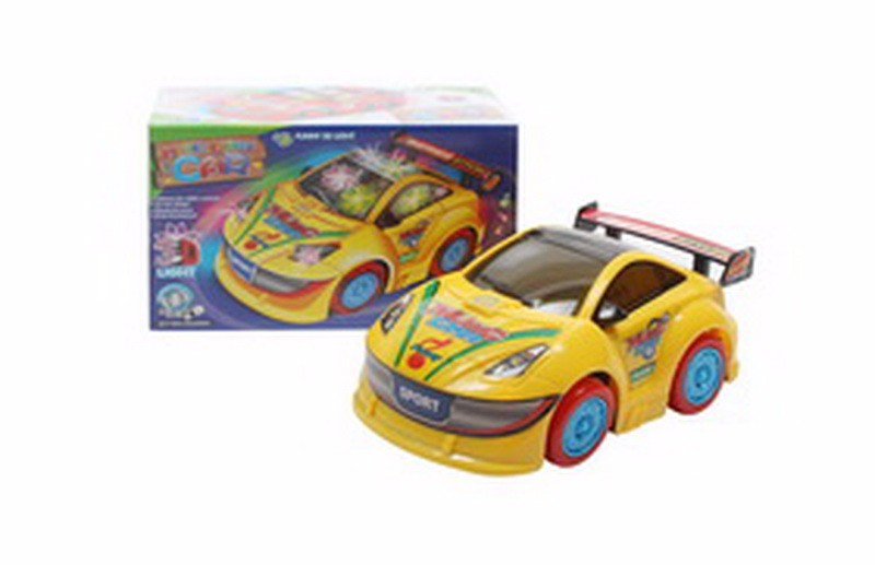 B/O 3D light cartoon car