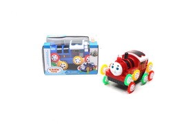 3D light music B/O wheel dump truck