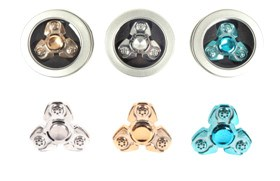 Alloy  fidget  widget(Silver/Golden/Blue)