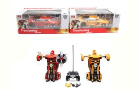 2.4G Lamborghini LP700 R/C transformer cars with little controller including battery and USB charger