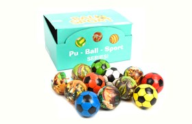 6.3CM PU BALL -MIX