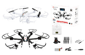2.4G R/C DRONE(WIFI 0.3MP camera,FPV, altitude position hold)