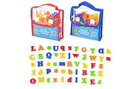 Magnetic Letters 52PCS/ 26PCS caps& 26PCS lower case