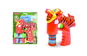 Tiger BO Bubble Gun/light,music,2 water,battery included