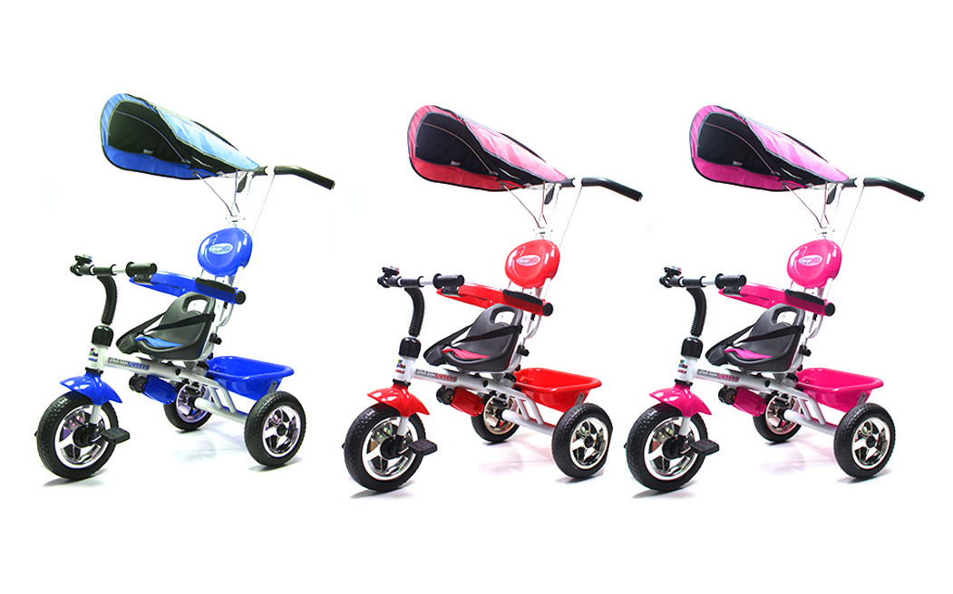 2IN1 Deluxe Toddler Tricycle/with canopy