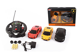 1:24 Authorized plastic R/C Lamborghini LP700(big controller)(including battery and charger)