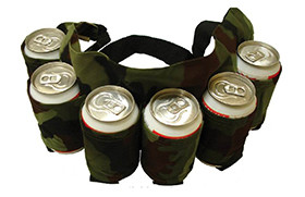 6 cans of beer belt including shipping