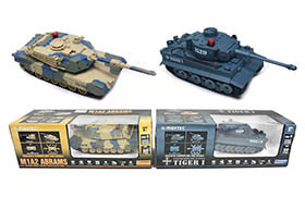 1:24 8 Channel R/C Battle Tanks