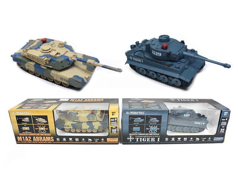124 8 Channel R C Battle Tanks