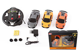 R/C Lamborghini 670(big controller)(including battery and charger)Authorized plastic