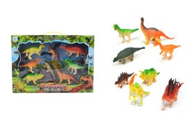 8Pcs Dinosaur Set