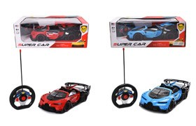 1:12 4-CH R/C Car With Light/Open Three Doors,27MHZ