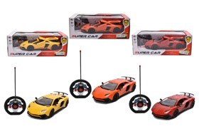 1:12 4-CH R/C Car With Light/Open Four Doors,27MHZ
