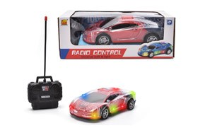 4-CH R/C  Car  With  Light.27MHZ