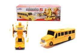 BO Deformation School Bus With  Liht/Music
