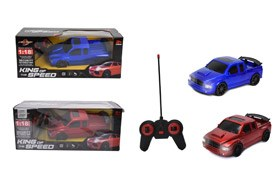 1:18 4-CH R/C Car With Light