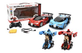 2.4G 1:12 R/C Transforming Car With Battery