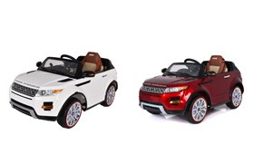 Licensed Range Rover R/C Ride On With Light /Music /MP4 /Swing